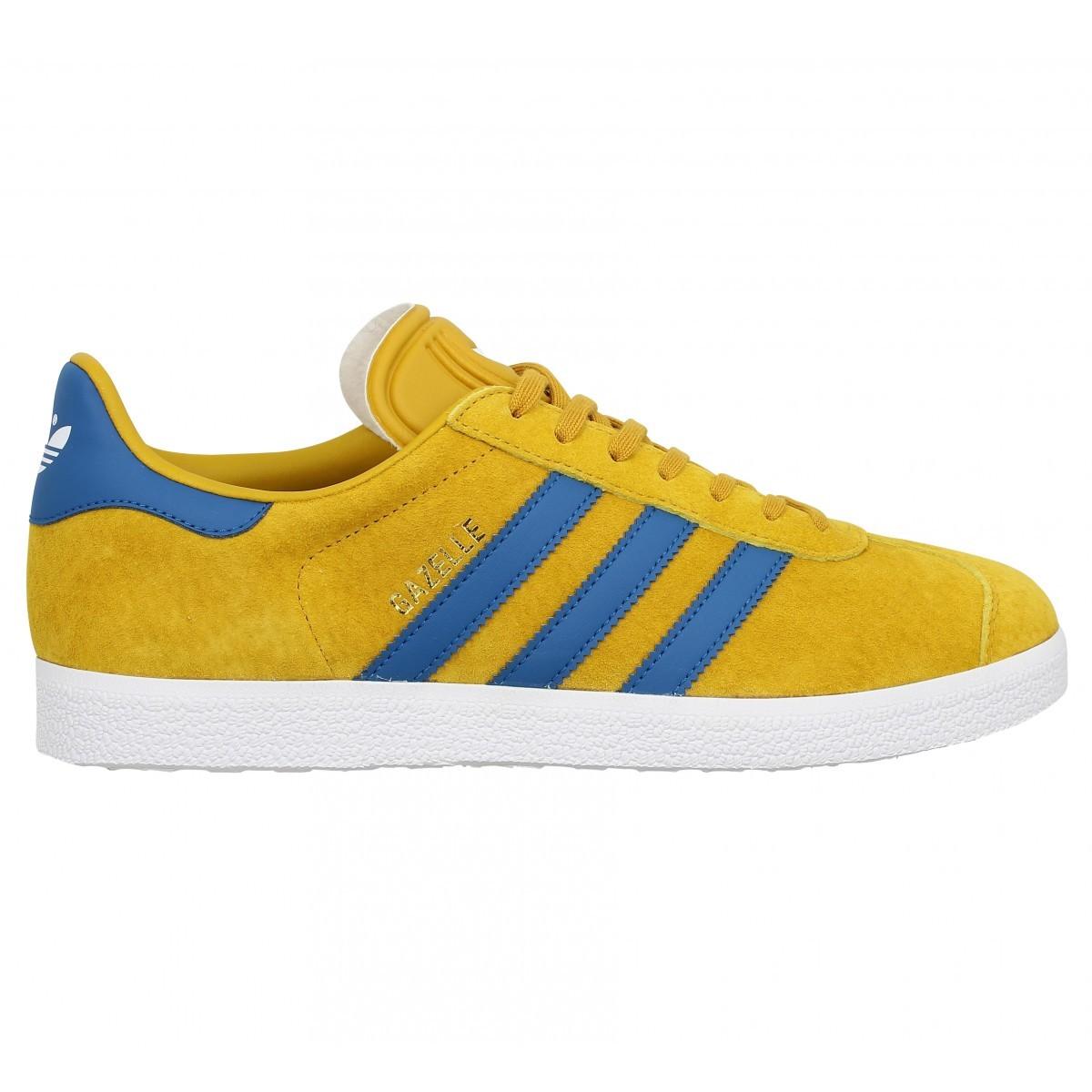 adidas gazelle homme bleu jaune une vente de liquidation de