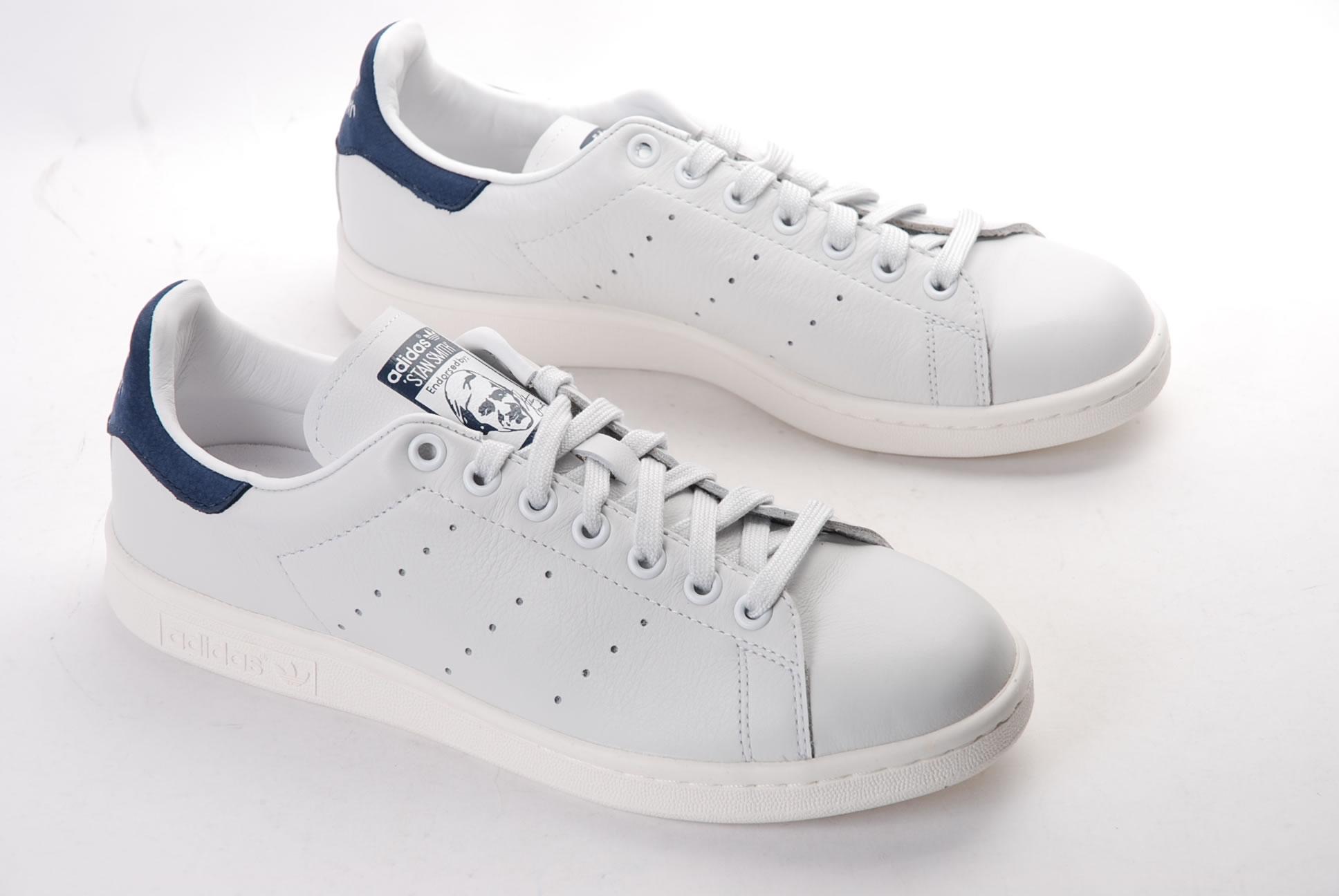 adidas stan smith homme blanche et bleu une vente de