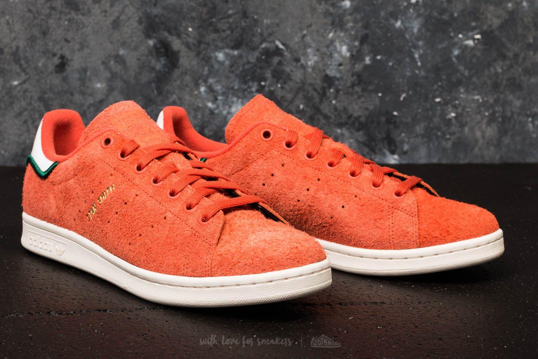 basket homme adidas stan smith orange