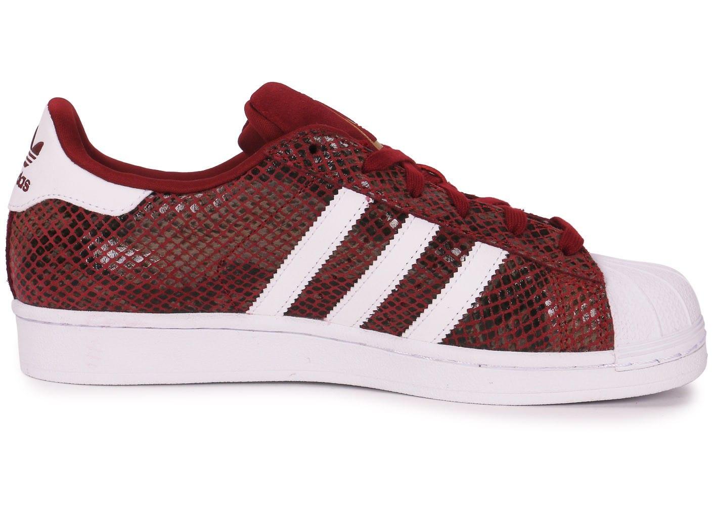 adidas superstar snake junior rouge une vente de liquidation