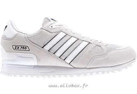 adidas zx 750 blanche une vente de liquidation de prix bas