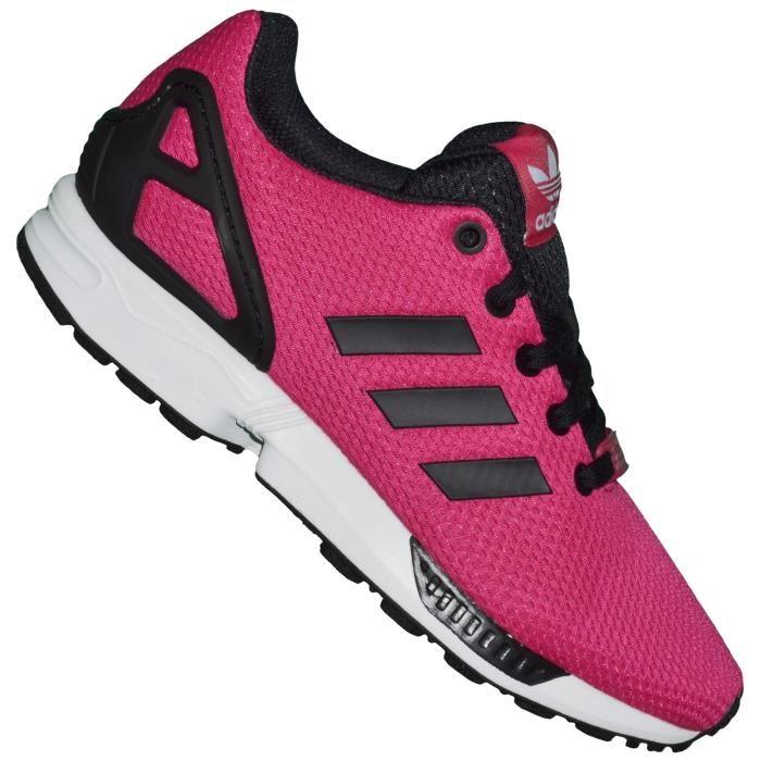adidas zx flux rose gold femme