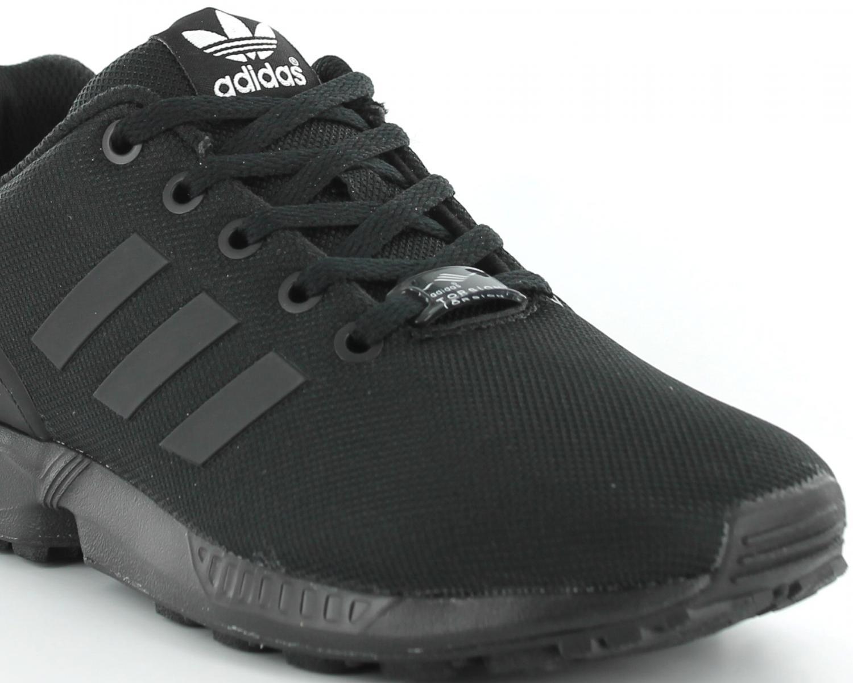 adidas zx flux toute noir une vente de liquidation de prix