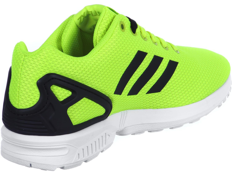 adidas zx flux vert une vente de liquidation de prix bas