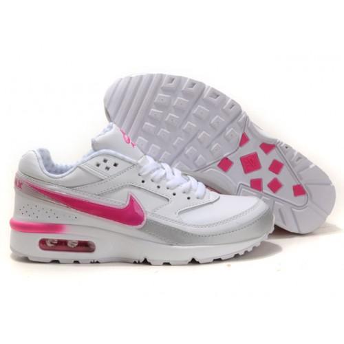 air max fille rose et blanc