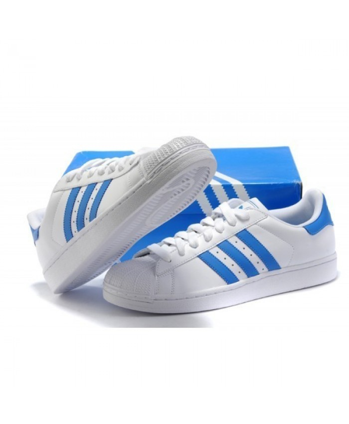 baskets adidas homme bleue bandes blanches