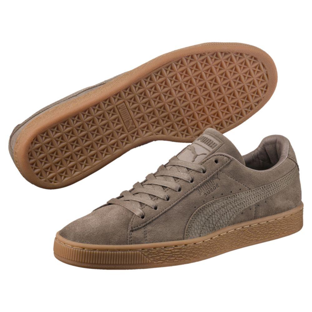 chaussure puma femme marron