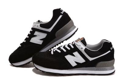 new balance noir et blanc pas cher